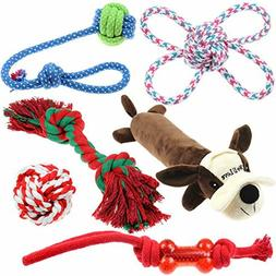 Well Love Dog Toys - Chew Toys - 100 Natural Cotton Rope - S