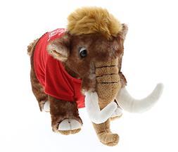 DolliBu Large Wild Mammoth I Love You Valentines Stuffed Ani