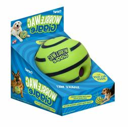Wobble Wag Giggle Dog Ball Toy Doggy Exercise Play Pet Toys