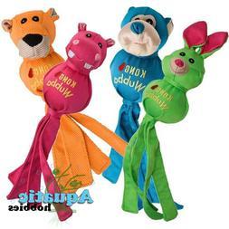 Kong Wubba Ballistic Friends Fetch Tug & Toss Toy for Dog Pu