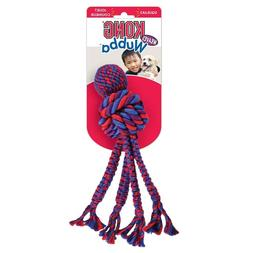Kong Wubba Weaves with Rope Dog Toy Assorted   Free Shipping